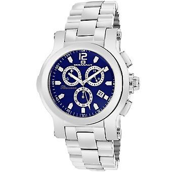 Oceanaut Men-apos;s Baccara Navy Blue Dial Watch - OC0730
