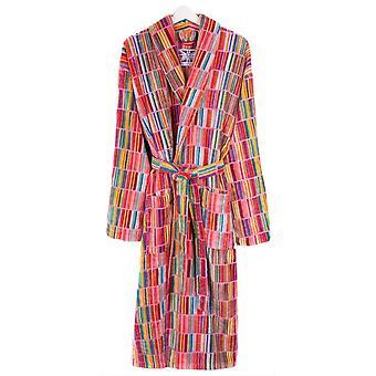 Bown of London Esat Block Striped Dressing Abito - Verde/Blu/Arancione