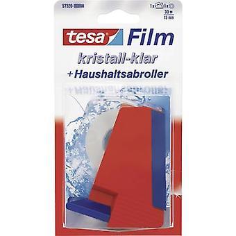 تيسافيلم® كريستال واضحة 33 م × 15 ملم + موزع المنزلية