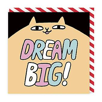 Ohh Deer Dream Big Square Greeting Card