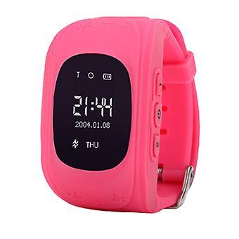 GPS-älykello lapsille-vaaleanpunainen