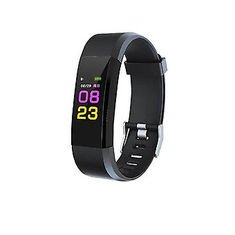 ID115 Plus activity wristband with color Display-Black