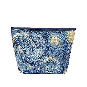 Van gogh-Starry Night Make-up bag by signare tapestry/Make-up-art-vg-star