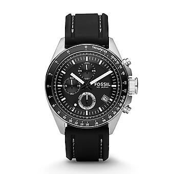 Fossil Dexter Silicone Chronograph Mens Watch CH2573IE