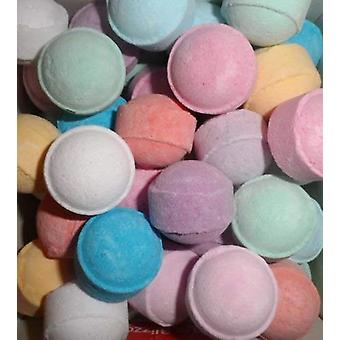 Sac de 30 Jasmine Bath Fizzer Marbles / Chill Pills / Mini Bath Bombs - Jasmine