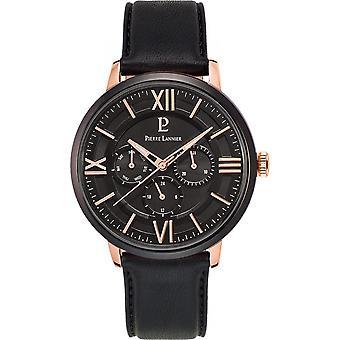 Watch Pierre Lannier 254C433 - Multifunction Leather black man