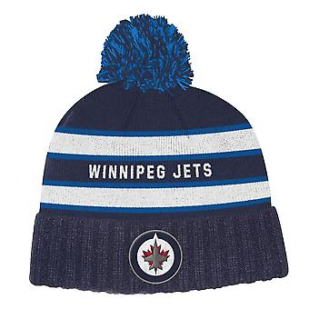Adidas Nhl Winnipeg Jets Culture Cuffed Pom Knit