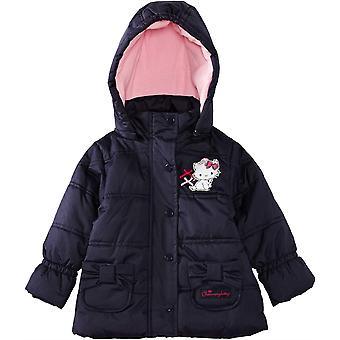 Filles hiver de Charmmy Kitty capuche Puffer / veste