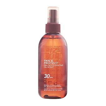Oil bronzing Tan & Protect Piz Buin Spf 30 (150 ml)