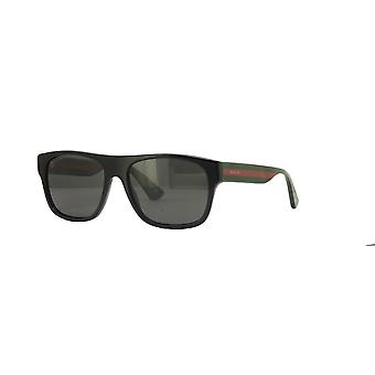 Gucci GG0341S 002 Black/Polarised Grey