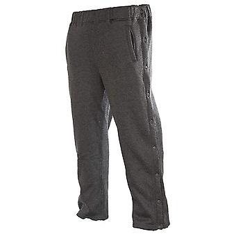 Funny Guy Mugs Retro Tearaway Sweatpants - Premium, Charcoal, Size Large