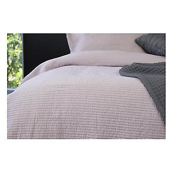 Ardor Flinders Light Mauve algodón lavado coverlet set