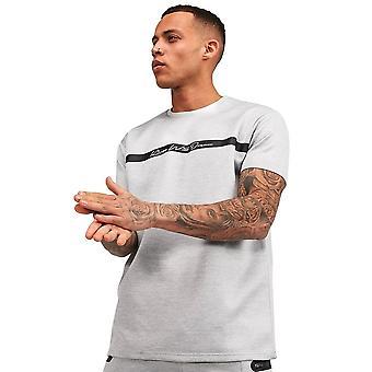 Kings Will Dream | Kwd Avell 2015 Stripe Half Sleeve T-shirt - Grey Marl