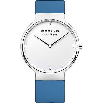 Bering reloj de reloj de reloj de reloj de pulsera Max René Ultra delgado - 15540-700 silicona