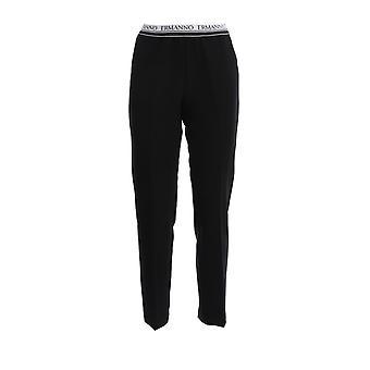 Ermanno Scervino Pl30map99 Women's Black Polyester Pants