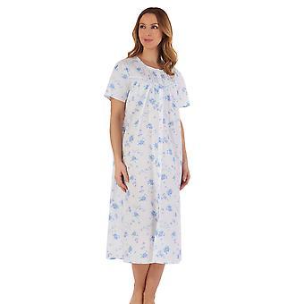 Slenderella ND55207 Women's Floral Cotton Nightdress