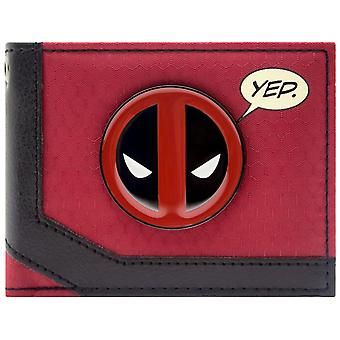 Deadpool Merc with a Mouth ID & Card Bi-Fold Wallet