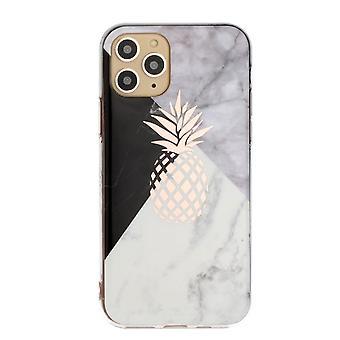 Marmor shell med ananas til iPhone 11 PRO