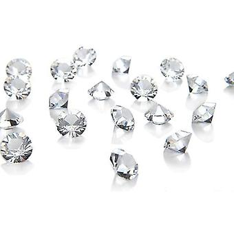 1000 Clear 6.5mm Wedding Decoration Scatter Table Crystals/diamonds/confetti