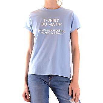 Sweet Matilda Ezbc407009 Women's Light Blue Cotton T-shirt