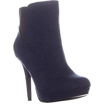 Thalia Sodi mujeres Briea tela redondo dedo del sol tobillo botas de moda
