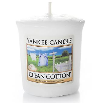 Yankee Candle Votive Sampler Clean Cotton