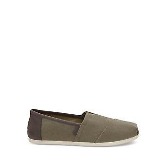 TOMS - Schuhe - Slip-on - TRIM-ALPR_100099-00-OLIVE - Herren - darkolivegreen - US 11.5