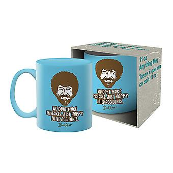 Bob Ross - accidente cana ceramica