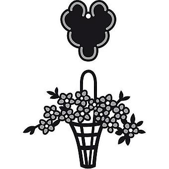 Marianne Design Craftables Cutting Dies - Mini Basket Label CR1209