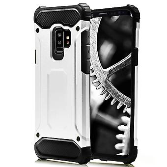 Shell pour Samsung Galaxy S9 Plus White Armor Protection Case Hard