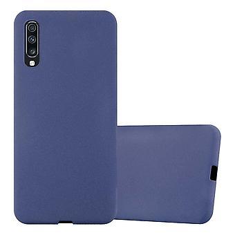 Cadorabo Hülle für Samsung Galaxy A70 hülle case cover - Handyhülle aus flexiblem TPU Silikon – Silikonhülle Schutzhülle Ultra Slim Soft Back Cover Case Bumper