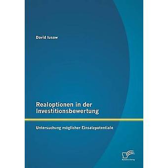 Realoptionen in Der Investitionsbewertung Untersuchung Moglicher Einsatzpotentiale by Iusow & David