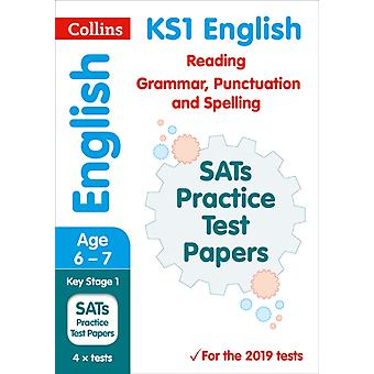 New KS1 SATs English Reading Grammar Punctuation and Spell