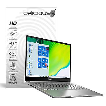 Celicious Vivid Invisible Glossy HD Screen Protector Film Compatible with Acer Swift 3 SF313-52/G [Pack of 2]
