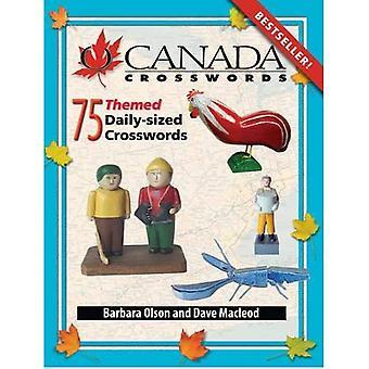 O Canada Crosswords: 75 Themed Daily-Sized Crosswords: Bk. 8 (O Canada Crosswords)