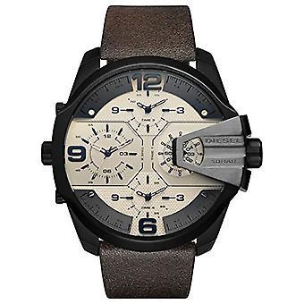 Diesel Analog quartz men's watch with leather DZ7391