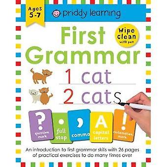 Wipe Clean Workbook First Grammar by Roger Priddy - 9781783415571 Book