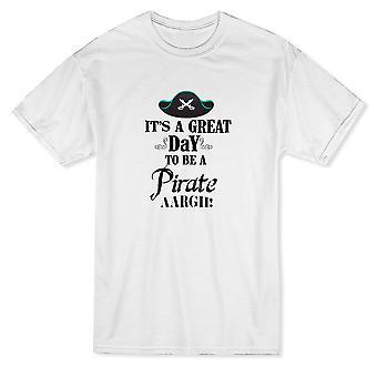 & It's يوم عظيم ليكون القراصنة, Aargh!& مضحك القراصنة اقتباس الرجال & apos;s تي شيرت