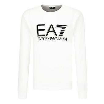 EA7 Emporio Armani Ea7 | Emporio Armani 3hpm60 Pj05z Logo Crew Neck Sweat Top