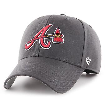 47 Brand Relaxed Fit Cap - MVP Atlanta Braves charcoal