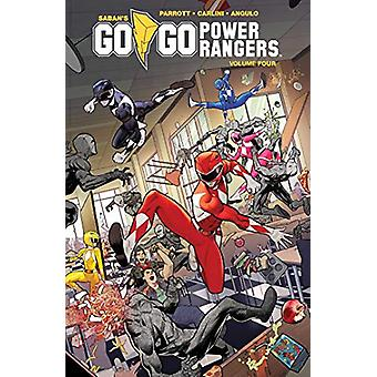 Saban's Go Go Power Rangers Vol. 4 by Ryan Parrott - 9781684153688 Bo