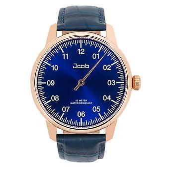 Jcob Einzeiger JCW004-LR03 rose gold/blue men's watch