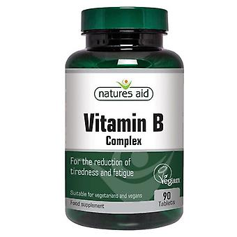 Nature & apos;s Aid Vitamin B Complex Tablets 90 (12210)
