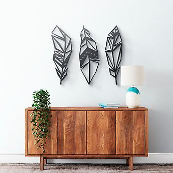 Metal Wall Art - Feathers