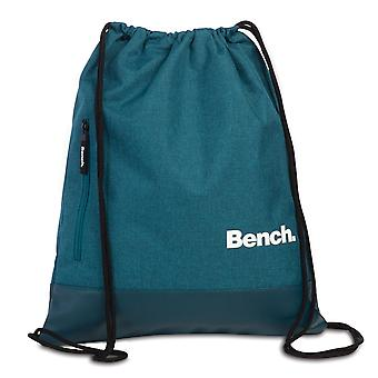 Bench Classic drawstring backpack 45 cm, teal