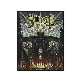 Ghost Patch Meliora Band Logo new Official 10cm x 7.5cm woven sew on