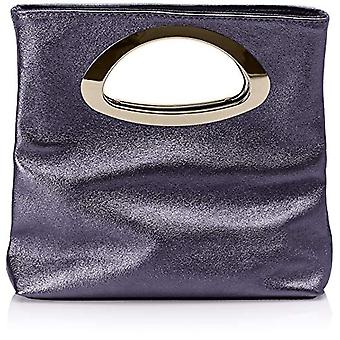 Chicca Bags Cbc34016tar Women's Hand Bag Blue 8x25x26 cm (W x H x L)