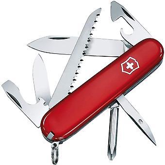 Victorinox الجيش السويسري المتجول سكين الجيب - الأحمر