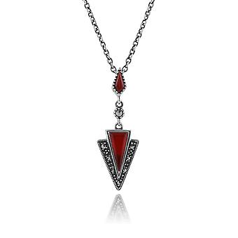 Collana a sospensione In argento 925 Sterling In argento 214N658301925