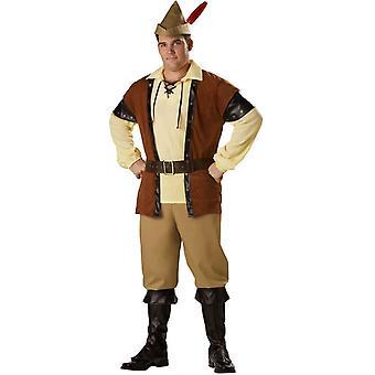 Robin Hood Adult Plus Size Costume